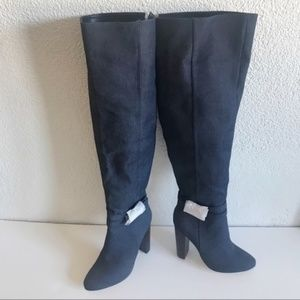 New Sexy Knee high denim boots.